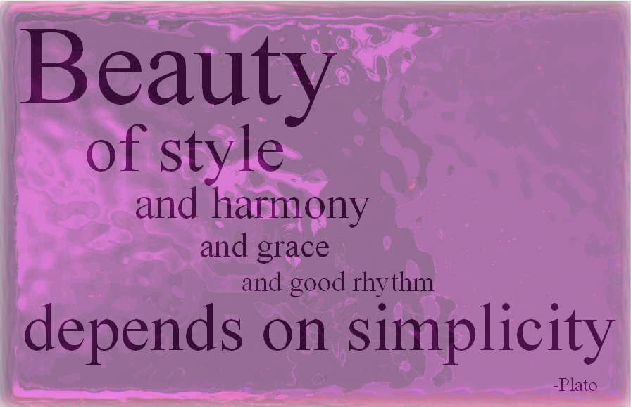 Beauty Of Style and harmony beauty quotes