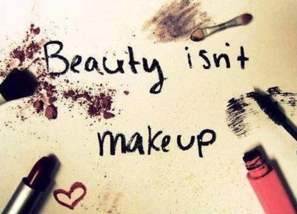 Beauty is not makeup beauty