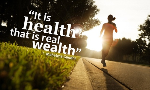 Real wealth health quotes