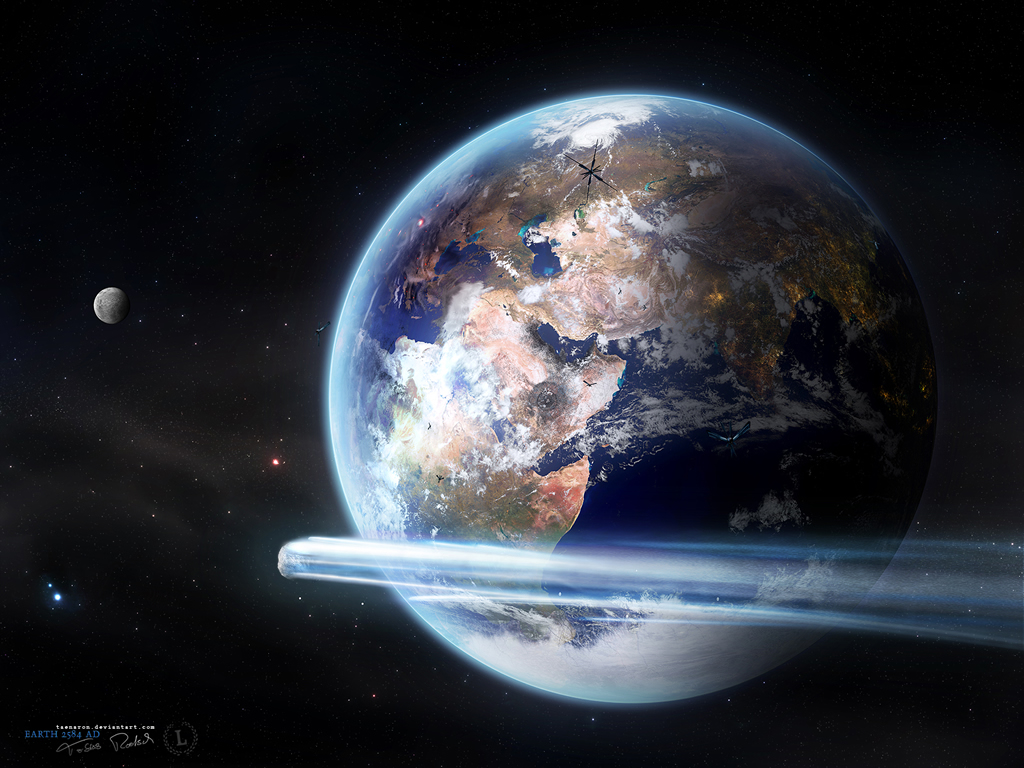 Classic earth wallpaper