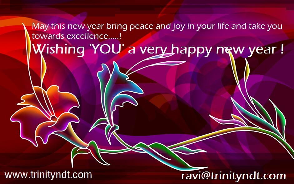 Peace and Joy new year greetings
