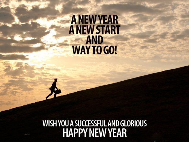 A New Start new year wish