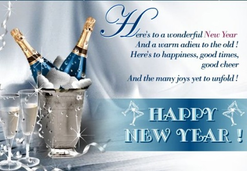 Wonderful New Year new year wishes