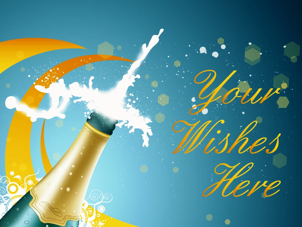 Your Wishes Here new year greetings