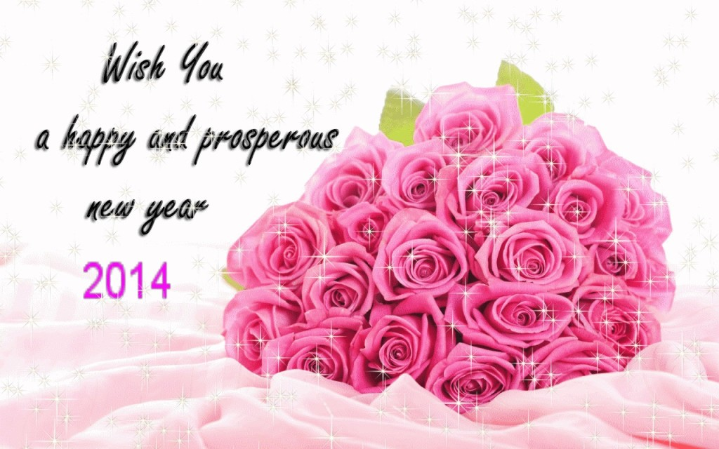 Wish With Roses new year wish