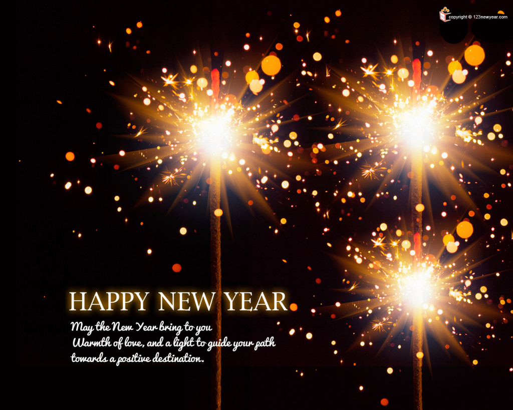 Awesome New Year Greetings wallpapers
