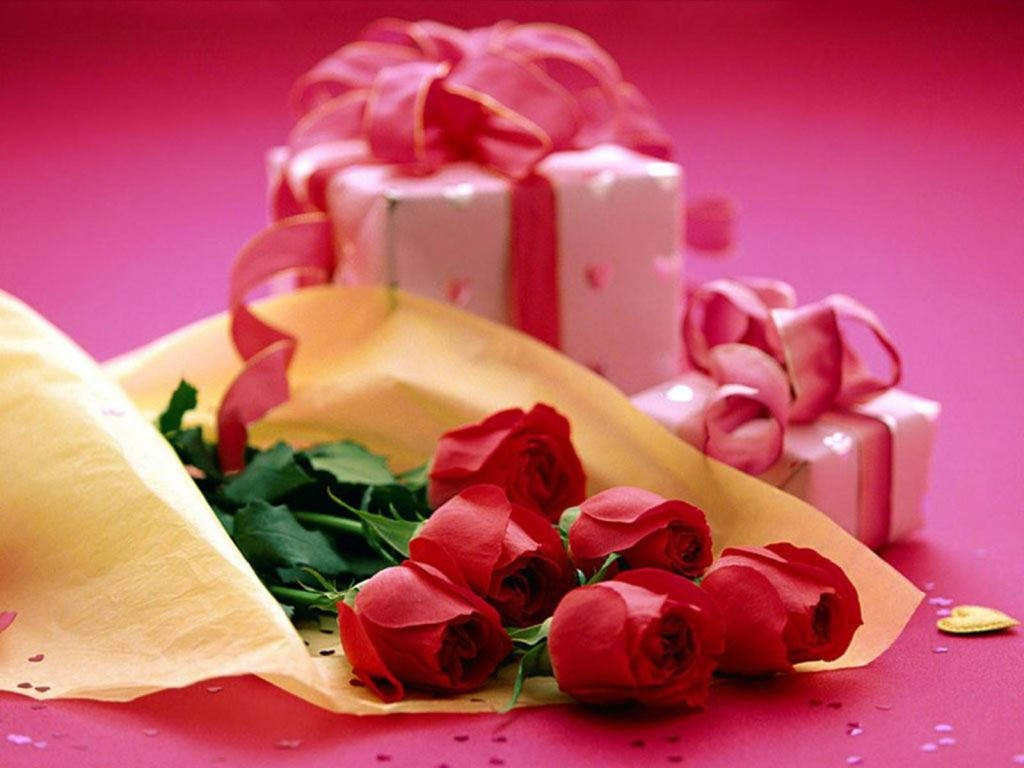 Gift With Roses valentine's day gift